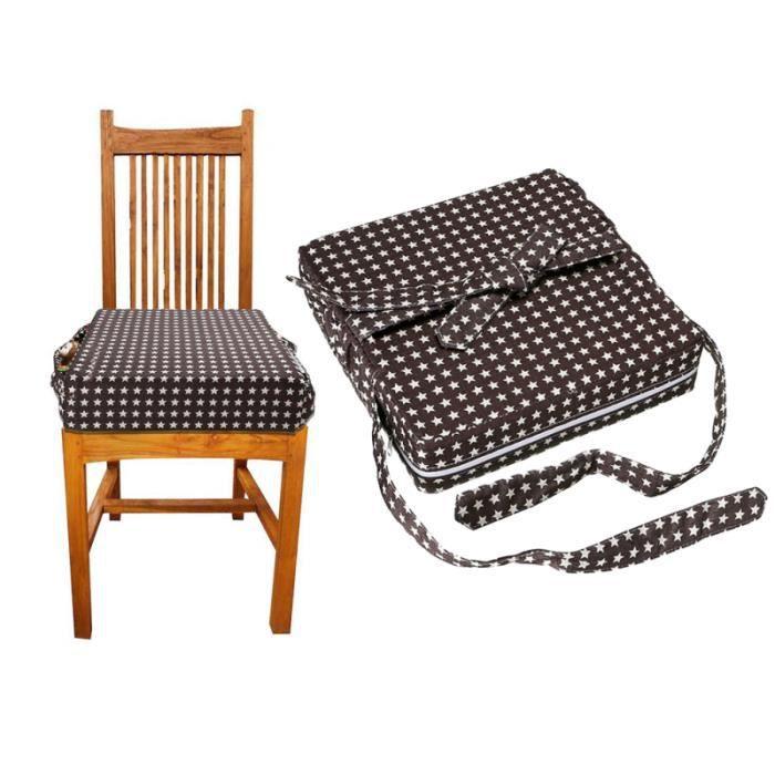 Chaise haute pour bébé Coussin rehausseur amovible pour enfants de siège Star Chair BOUCLIER DE PROTECTION SIEGE - CEINTURE