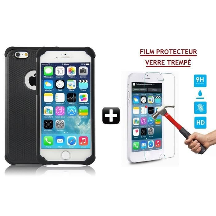 coque triple protection film cran vitre en verre tremp pour iphone 4 4s achat coque. Black Bedroom Furniture Sets. Home Design Ideas
