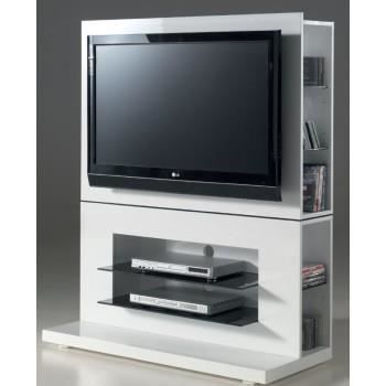 meuble tv multim dia young19 laqu blanc achat vente meuble tv meuble tv multim dia young1. Black Bedroom Furniture Sets. Home Design Ideas