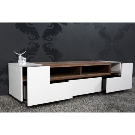 meuble tv design bosselli high gloss achat vente. Black Bedroom Furniture Sets. Home Design Ideas