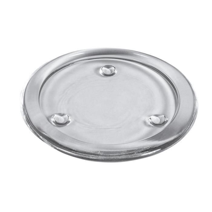 Sous-verre pour chaque table Sous-verre en vinyle com-four/® Sous-verre en verre /à boissons 8x 08 pi/èces - verre