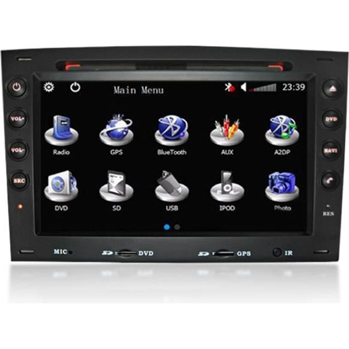 autoradio gps compatible renault megane achat vente. Black Bedroom Furniture Sets. Home Design Ideas