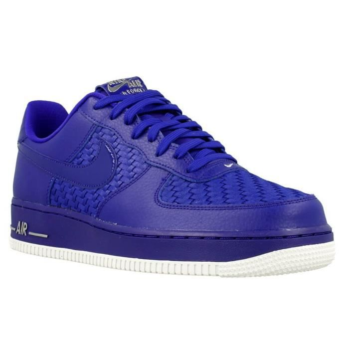chaussures nike air force 1 07 lv8 bleu bleu achat vente basket cdiscount. Black Bedroom Furniture Sets. Home Design Ideas