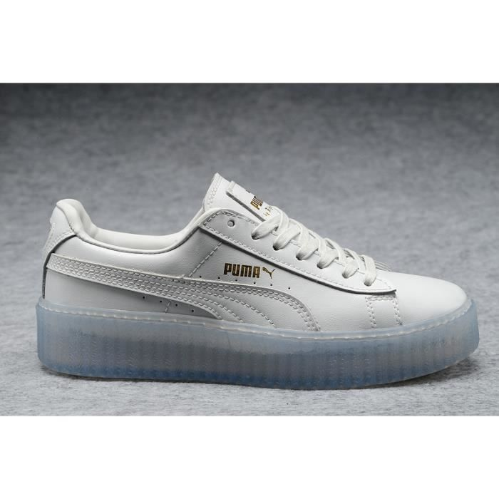 Baskets Puma Rihanna Suede Creepers Chaussures Running