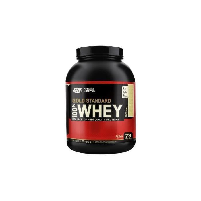 PROTÉINE 100% Whey Gold standard 2270gr - Chocolat beurre d
