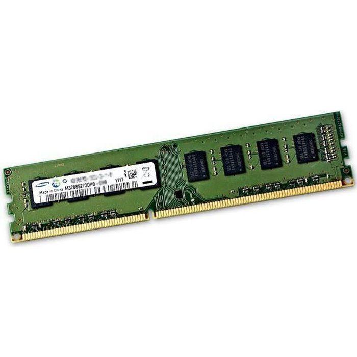 Samsung 4GB 1Rx8 PC3-12800U DDR3 M378B5173QHO-CKO Desktop Memory RAM