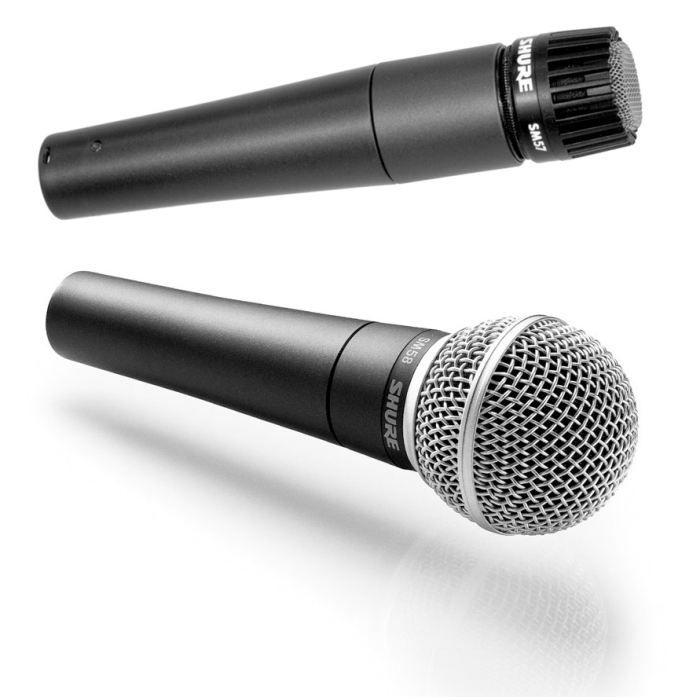 Pack Shure Sm 58 Et Sm 57 Sm58 Sm57 Microphone Accessoire Avis Et Prix Pas Cher Cdiscount