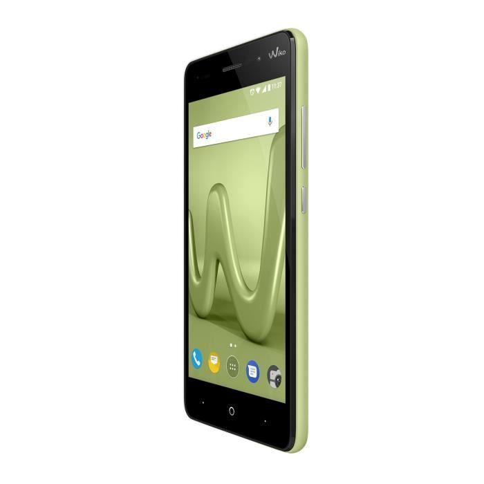SMARTPHONE Wiko Lenny 4 Lime LS Smartphone débloqué 3G+ (Ecra