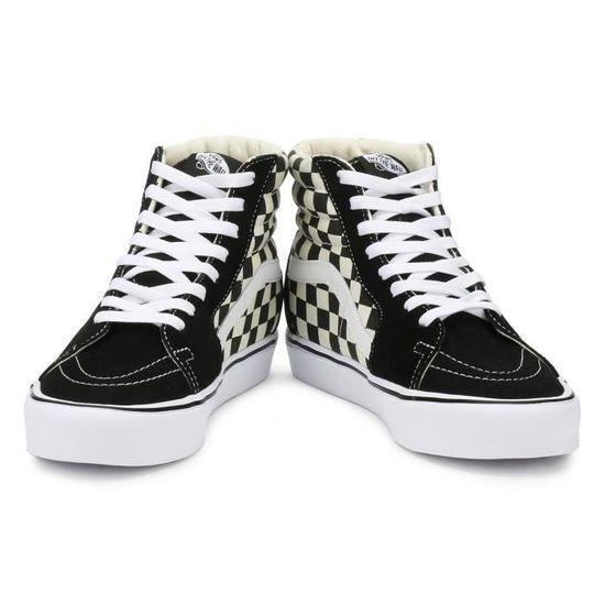 Vans Damier noir - blanc SK8-Hi Lite Trainers-UK 5 Black ...