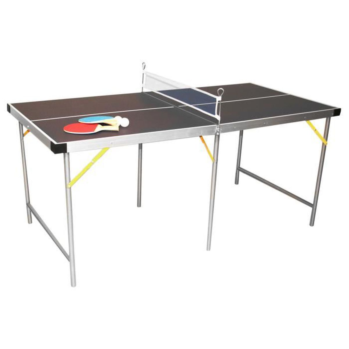 table de ping pong pliable vert 152 cm prix pas cher. Black Bedroom Furniture Sets. Home Design Ideas