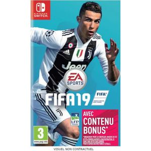 JEU NINTENDO SWITCH FIFA 19 Jeu Switch