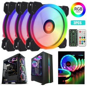 VENTILATION  3IN1 RGB LED 120mm Case haute performance du venti