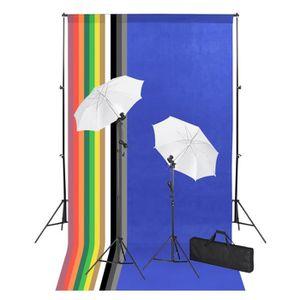 KIT STUDIO PHOTO YAJIASHENG Kit de studio photo avec toiles de fond