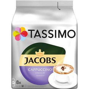 CAFÉ CD-709capsules Tassimo Jacobs Cappuccino Choco, 40