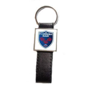 PORTE-CLÉS Porte-clés acier/simili cuir Rugby FC Grenoble Rug