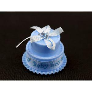 BOÎTE À DRAGÉES 50 Gâteau boîte à dragée baptême naissance garçon