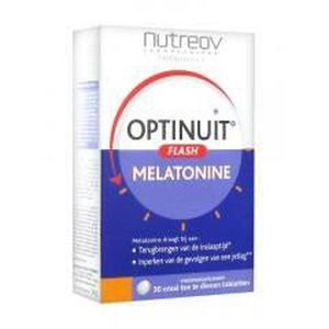 STRESS - SOMMEIL Nutreov Optinuit Flash Mélatonine 30 Comprimés