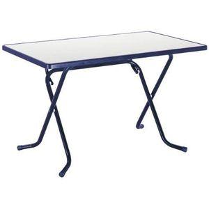TABLE DE JARDIN  Best 26521120 Primo Table pliante carrée à pied…