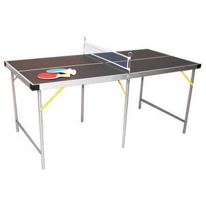TABLE TENNIS DE TABLE Table de ping-pong pliable - vert - 152 cm