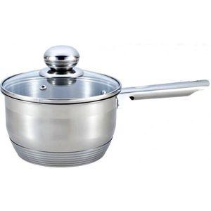3Pc Aluminium Casserole Lait Casserole Cookware Set Isolé Poignée avec couvercle grande
