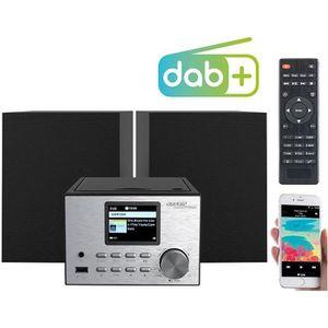 RADIO CD CASSETTE Micro-chaîne stéréo 60W avec lecteurs CD/bluetooth