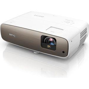 Vidéoprojecteur BENQ W2700 Projecteur UHD 4K - Blanc et chrome