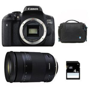 APPAREIL PHOTO RÉFLEX CANON EOS 750D + TAMRON 18-400 f/3.5-6.3 Di II VC