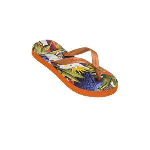 TONG Tongs fille Amazonas Enjoy Fauna Orange
