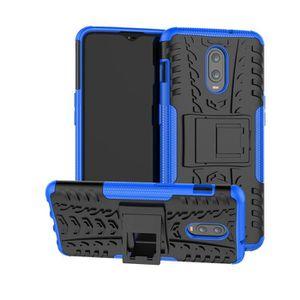 COQUE - BUMPER Coque OnePlus 6T, Rugged Armor avec Support et Dou