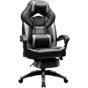SIÈGE GAMING SONGMICS Chaise de bureau ergonomique 124-131 cm c