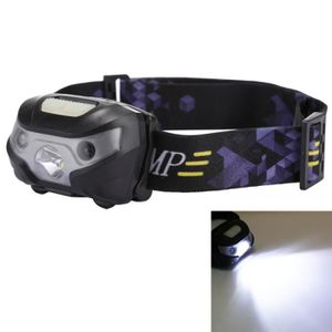 Winzwon Rechargeable USB Tête Torche DEL projecteur phare parfait pour la course,
