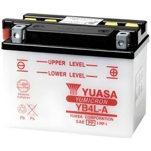 BATTERIE VÉHICULE YUASA-812042 - Batterie YB4LA