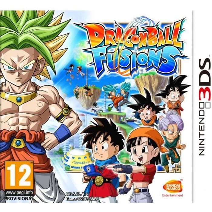 Dragon Ball Fusions Jeu 3DS