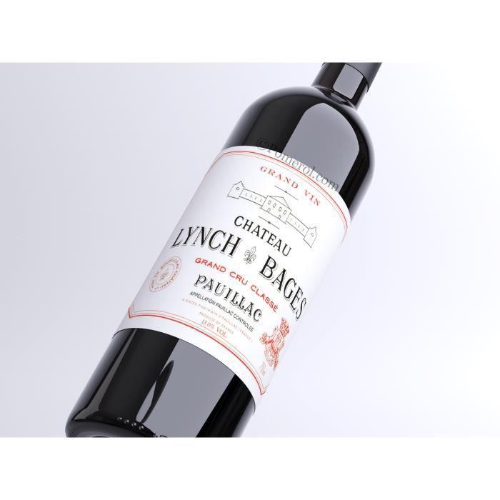 X18 Château Lynch-Bages 2004 - AOC Pauillac - 5ème Cru Classé - vin rouge - Bouteille (0,75cl)