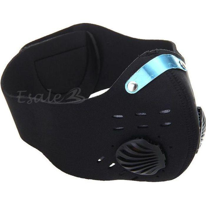 Masque Cagoule Tour de cou Noir Anti Pollution …