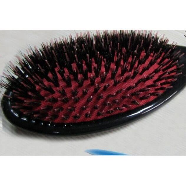 5 pièces véritable naturel poils de sanglier Extension de cheveux brosse boucle Extension de cheveux professionnel outil*CD11263