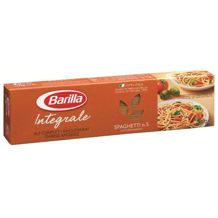 Spaghetti integrali ble complet 500 g Barilla