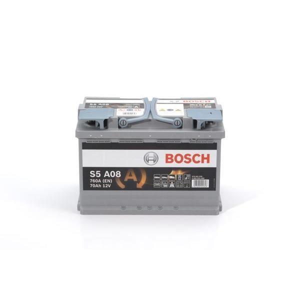 BOSCH Batterie Auto S5A08 70Ah / 0092S5A080