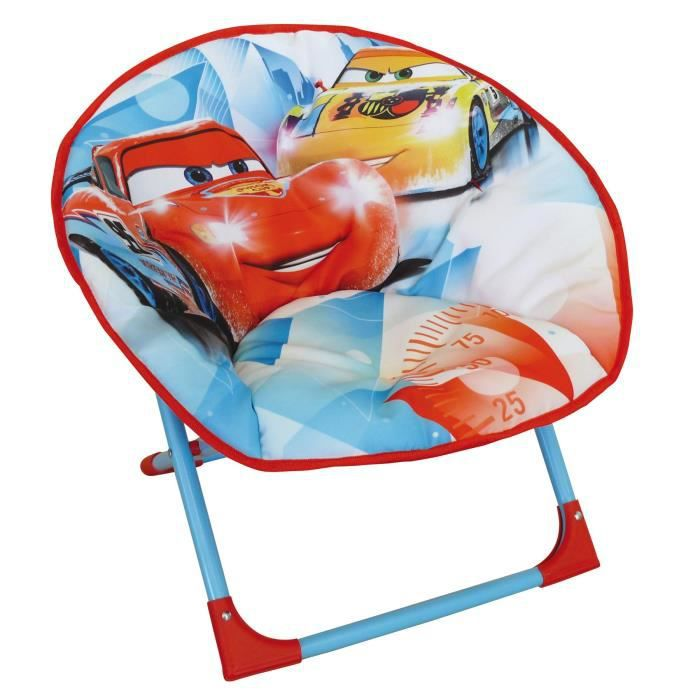 Fun House Disney Cars siege lune pliable pour enfant