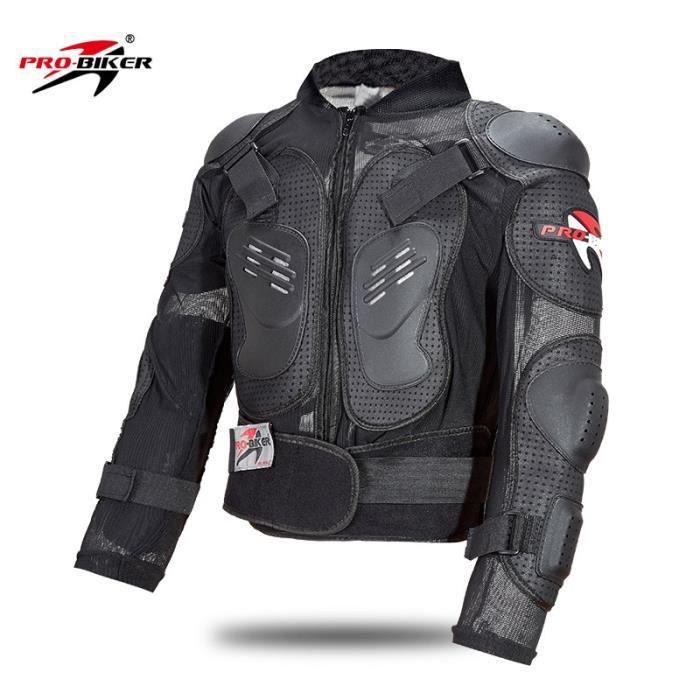 Ensemble de protection de corps de motocycliste d'armure de moto GILET de course automobile