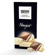 Nestlé tablette de chocolat au lait nougat 150g