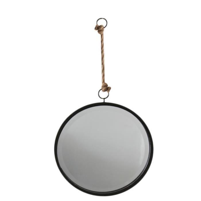 Miroir rond Factory (D.32cm)