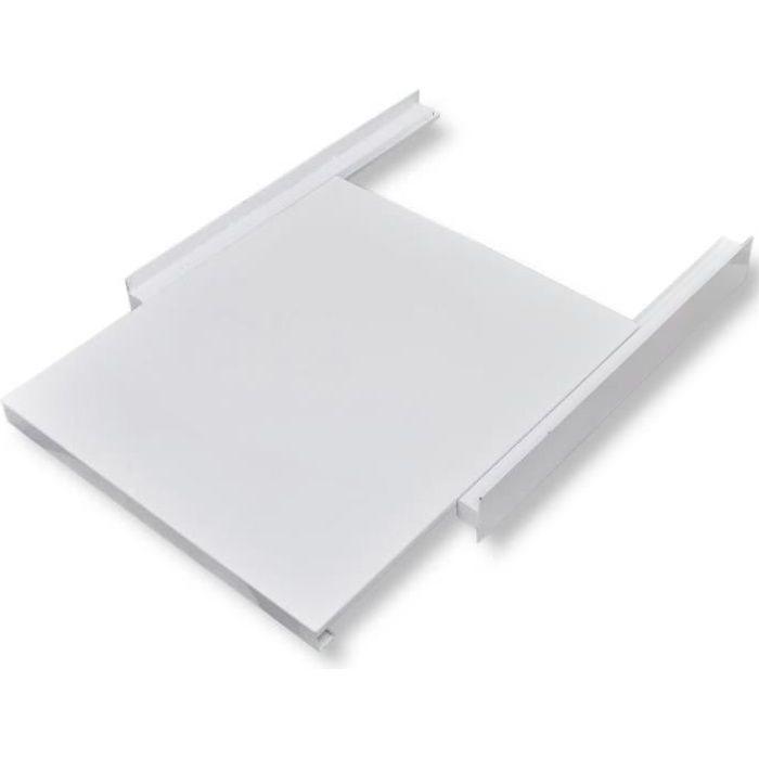 Luxueux Magnifique Kit d'empilage avec étagère coulissante pour la machine à laver