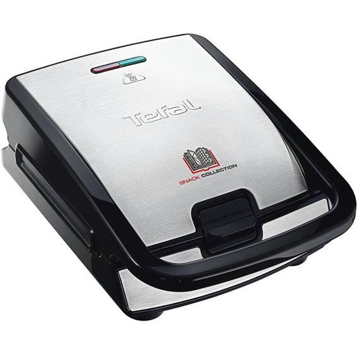 Tefal SW852D27 Grill Multi-fonction Snack Collection 700 W Noir