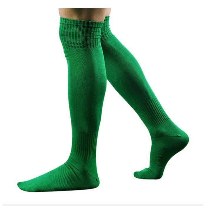Chaussettes de Football Long pour Hommes 35/38-vert