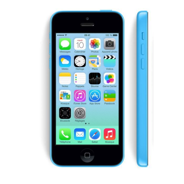 iphone 5c bleu 32go d bloqu tout op rateur achat. Black Bedroom Furniture Sets. Home Design Ideas