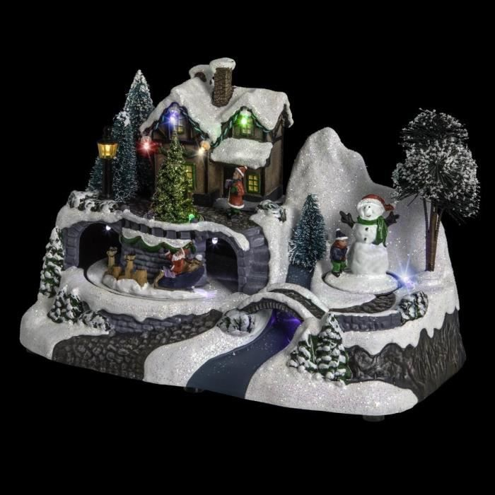 decoration de noel creche et village. Black Bedroom Furniture Sets. Home Design Ideas