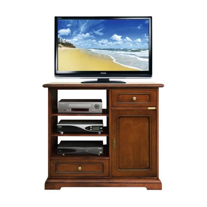 meuble tv classique 1 porte 2 tiroirs achat vente meuble tv meuble tv 1 porte 2 tiroirs. Black Bedroom Furniture Sets. Home Design Ideas