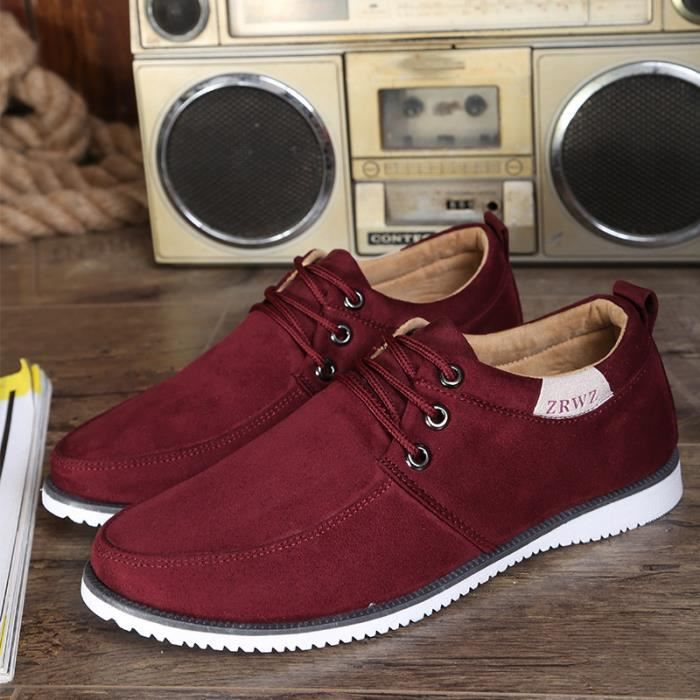 Chaussures Homme Baskets Homme Rouge
