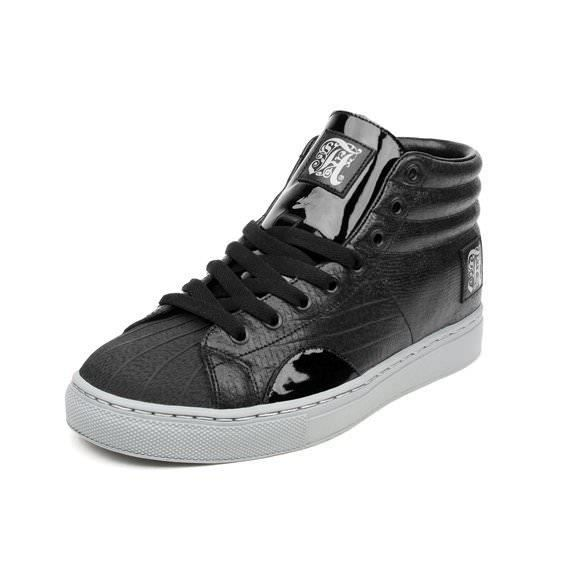 ALIFE Shell Toe Warrior Reptile Black